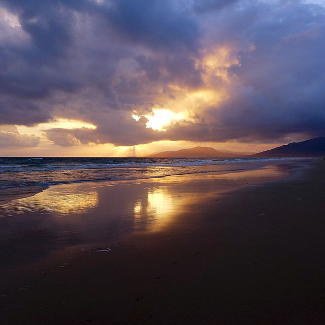 Tarifa's sunset