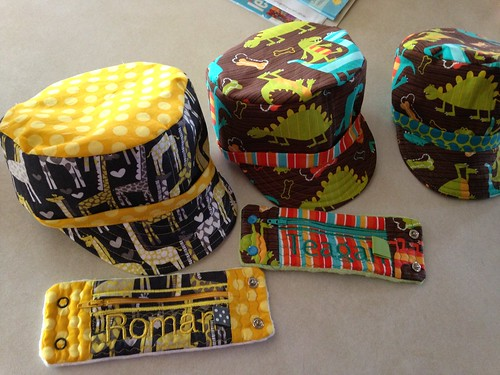 Jack and Jill Hats (Jack's) and wallets