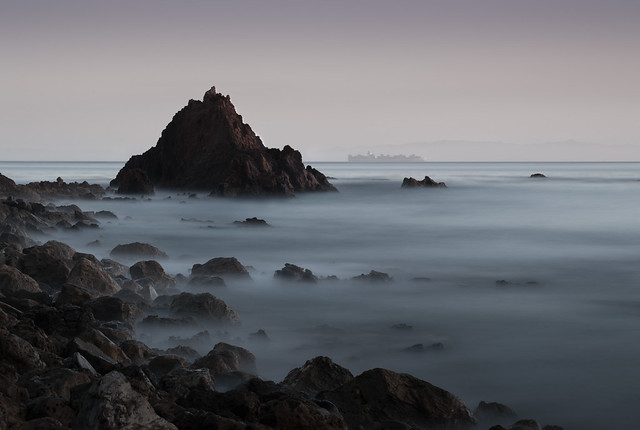 Point Vicente Channel, Long Exposure