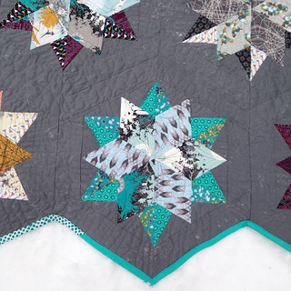 Indelible Night Sky quilt