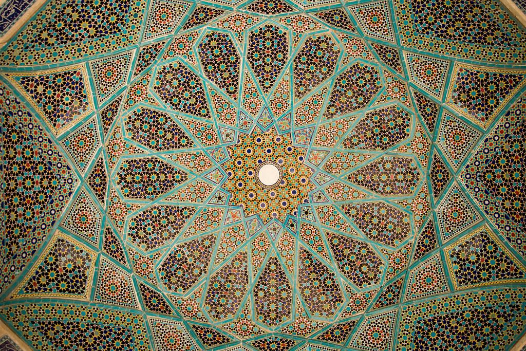 Tombe du poète Hafez à Shiraz