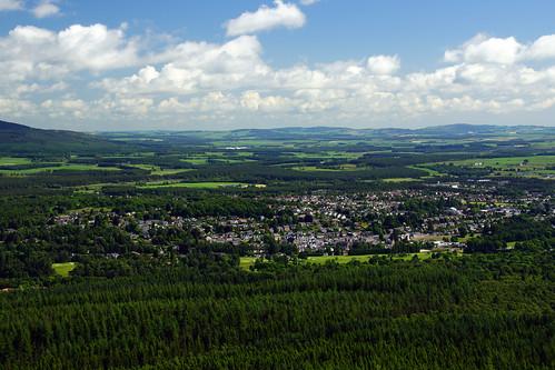 cloud scotland aberdeenshire hills scolyhill