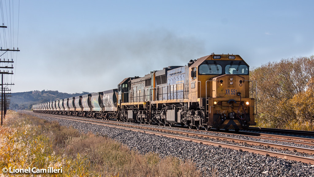 XR551 leads X44 by LC501