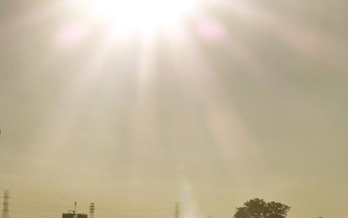 sunset sun lens landscape solar illinois minimal flare solarized joliet solarize