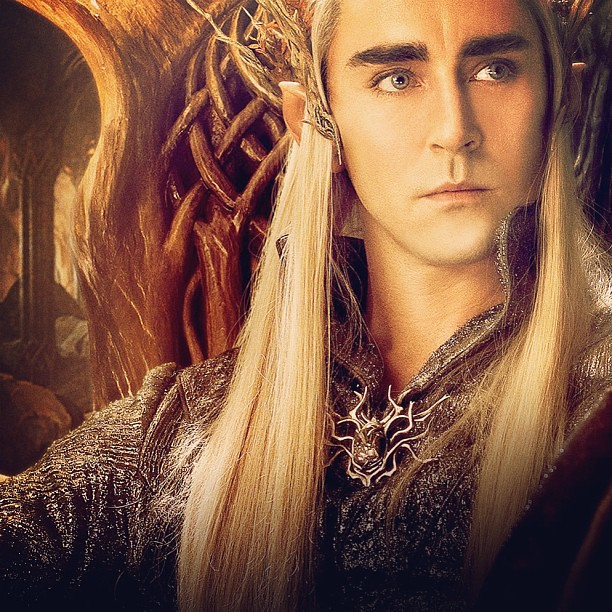 I think my overwhelming attraction to #Thranduil proves I