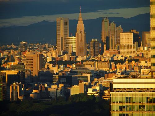 city japan sunrise tokyo shinjuku cityscape olympus omd fav10 fav25 mandarineorientalhotel