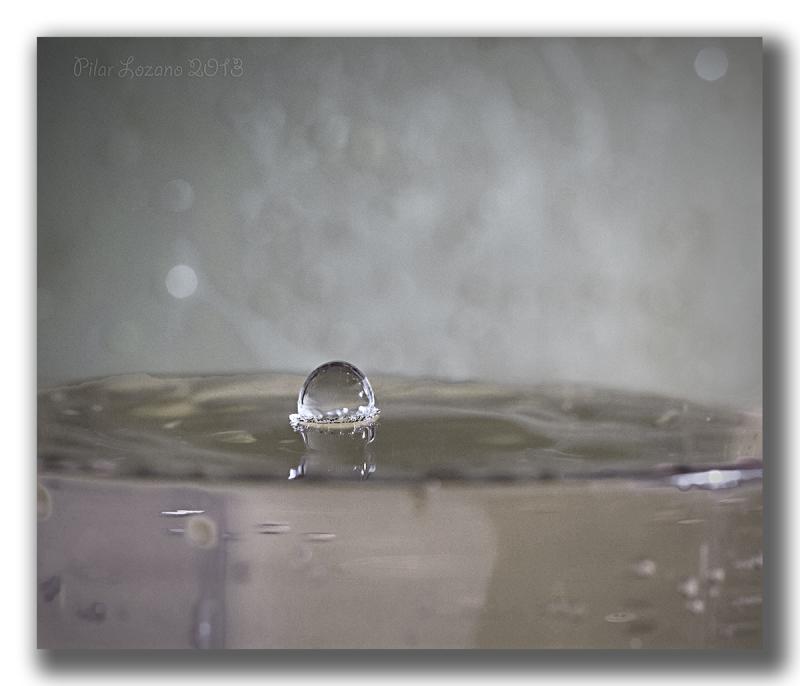 Sólo una gota de agua...