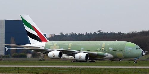 RTO msn158 F-WWAU 21/3/2014   by A380_TLS_A350