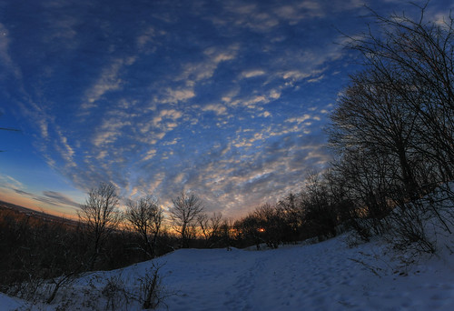 trees winter sunset sky snow ny newyork nature clouds forest landscape outside outdoors evening brighton scenic explore hillside nys rochesterny westernnewyork wny monroecounty pinnaclehill explored dandangler catdynasty