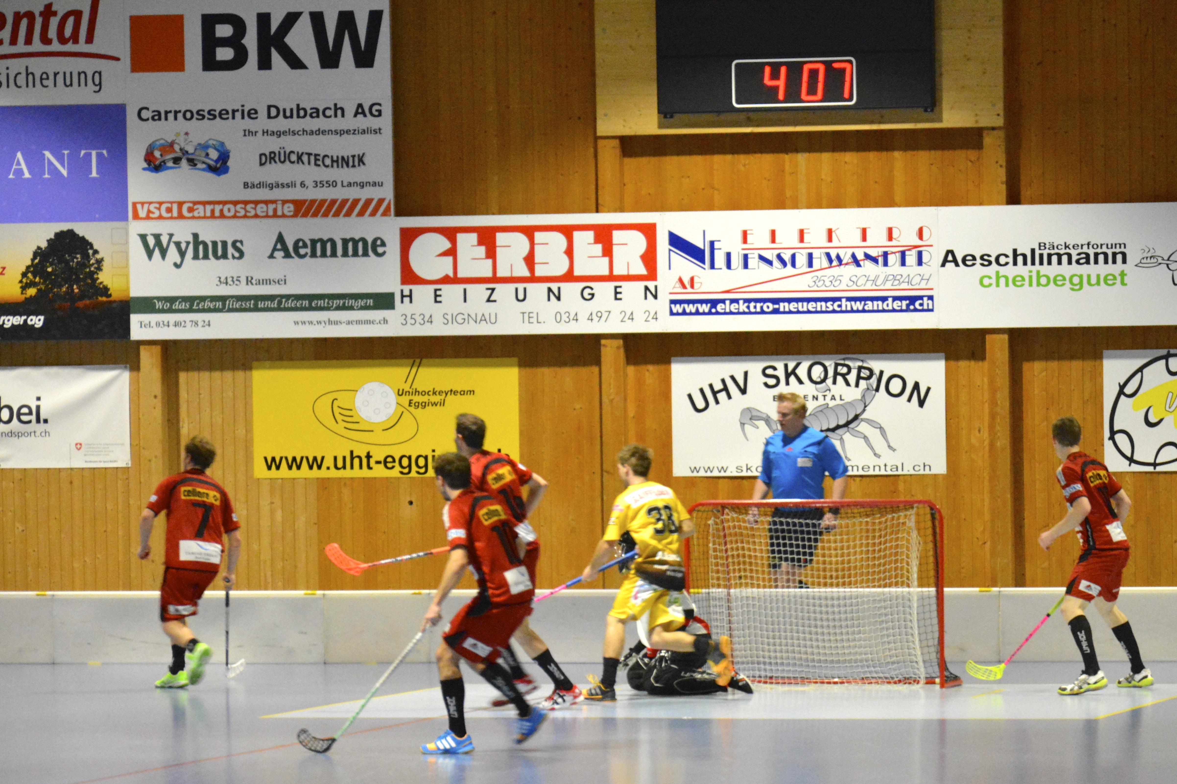 Herren NLB - UHC Sarganserland Saison 2014/15