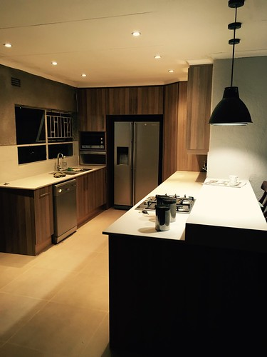 Kitchen renovation: view by night | by olafmeister