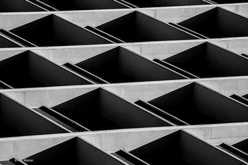 Architectural abstract | by Phil Marion