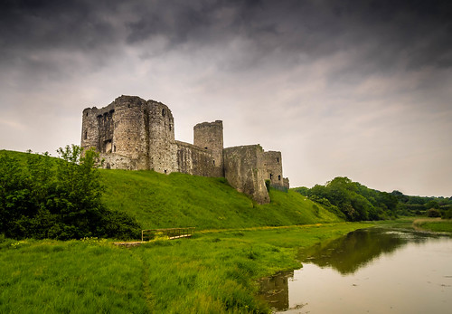 The Castle on the River Gwendraeth. | by hemlockwood1
