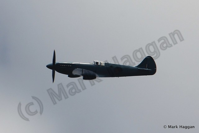 A Spitfire Mark IX at Moira Canal Festival