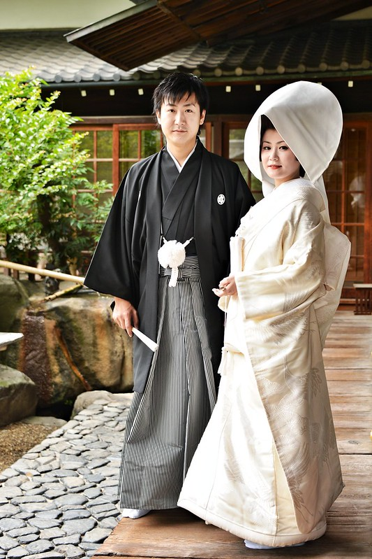 Traditional Japanese wedding