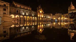 Braga, Lens Tokina AT-X 116 PRO DX AF 11-16mm f-2.8, long exposure, night, Portugal, Praca da Republica, Praça da República.jpg | by globetrotter_rodrigo