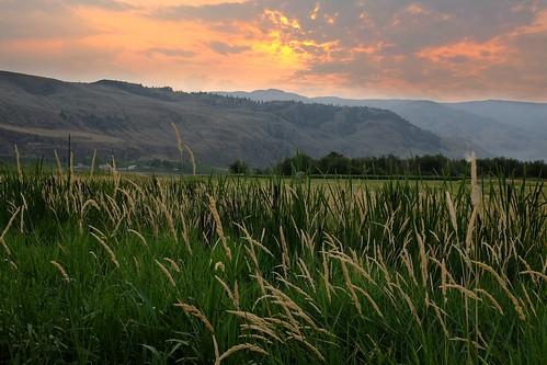 sunset mountains nature landscape okanagan fields fujifilm osoyoos fujixseries x100s