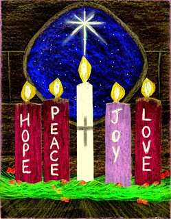 Christ Candle 2015
