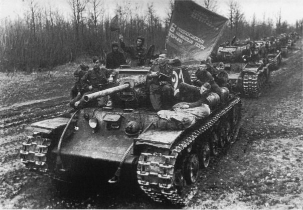 Tanks KV-1S 6-th separate tank regiment