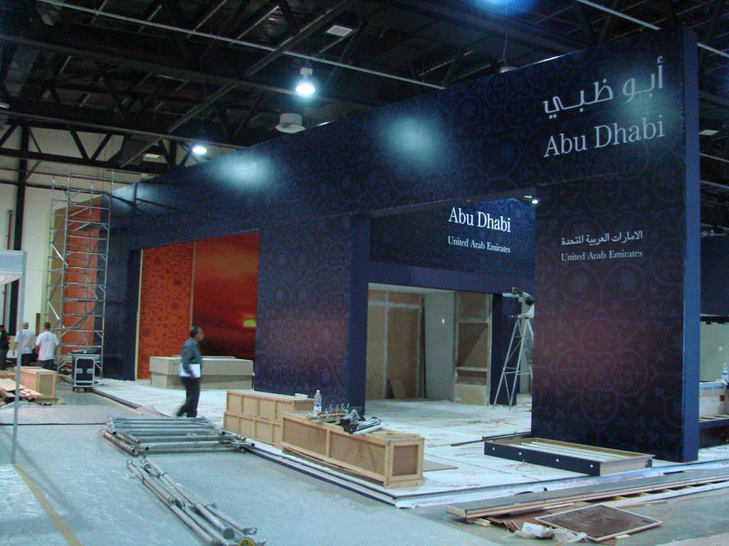 Exhibition Stand Design Abu Dhabi : Abu dhabi tourism authority exhibition stand design at atmu flickr