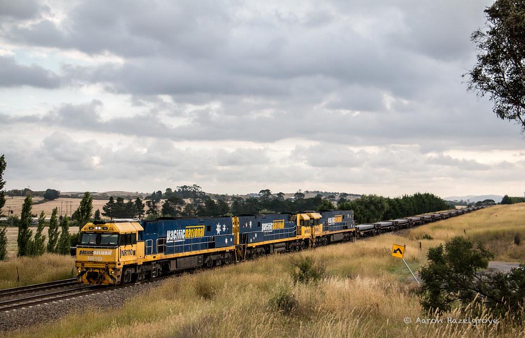 NR110, NR82 and NR58 on 2YN2 at Goulburn by AaronHazelgrove01