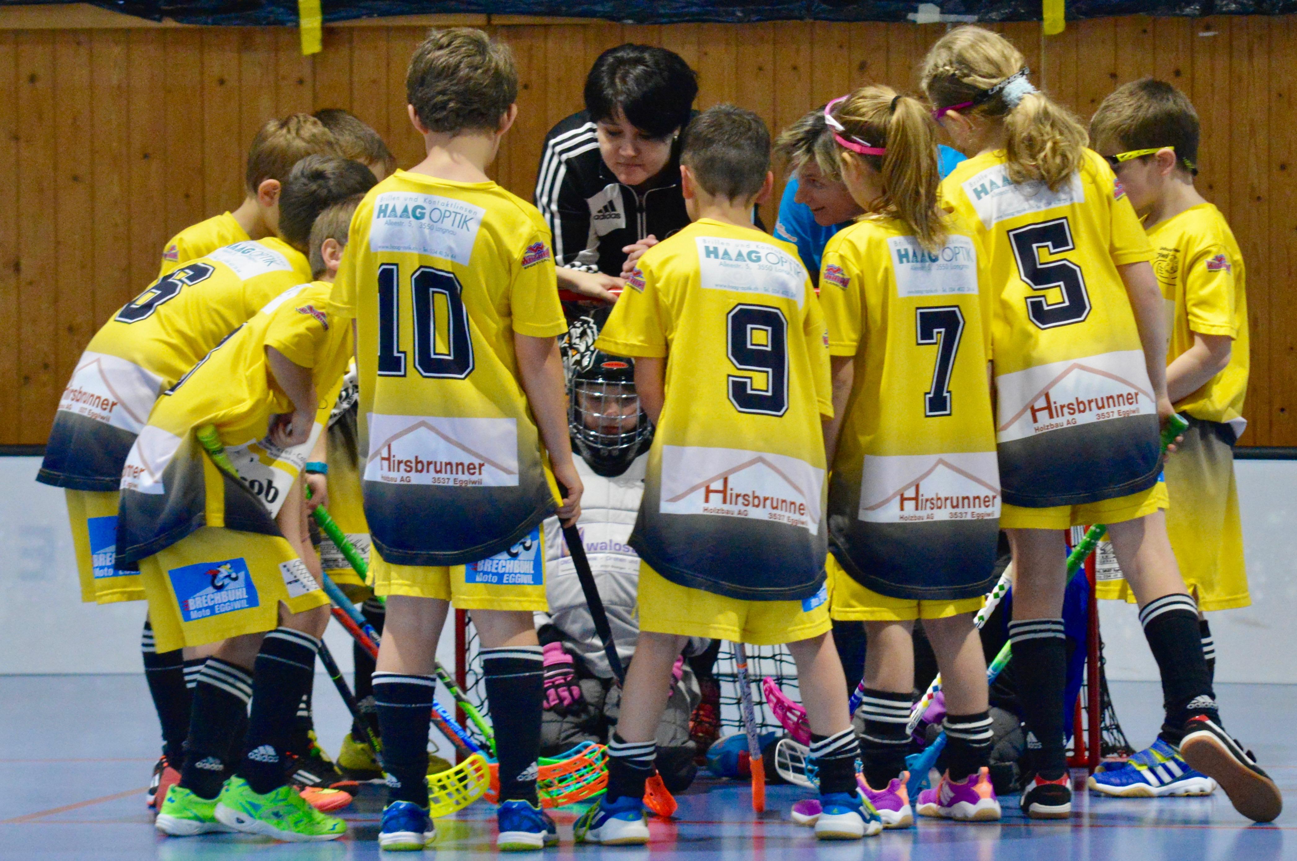 Junioren E I - Floorball Köniz Saison 2016/17