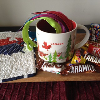 My #URHereswap arrived today! So appropriate since I grew up 20 minutes from the Canadian border.