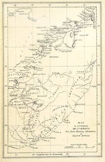 Image taken from page 425 of 'Five Years of a Hunter's Life in the Far Interior of South Africa. With notices of the native tribes, and anecdotes of the chase of the lion, elephant, hippopotamus, giraffe, rhinoceros, &c. ... With illustrations' | by The British Library