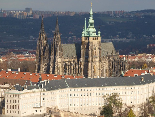 St.Vitus's Cathedral and Prague Castle - Prague