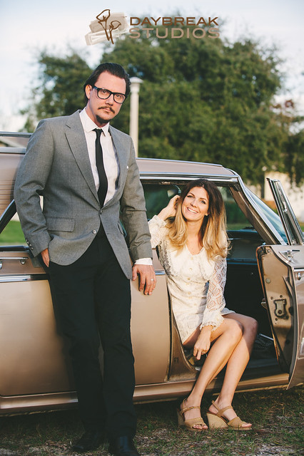 Tara + Seth: Retro St. Augustine Wedding