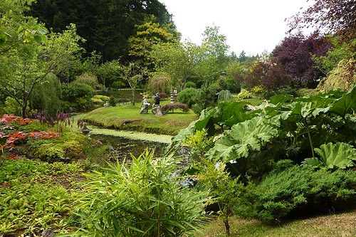 Japanese Gardens, Mayne Island, Southern Gulf Islands, British Columbia
