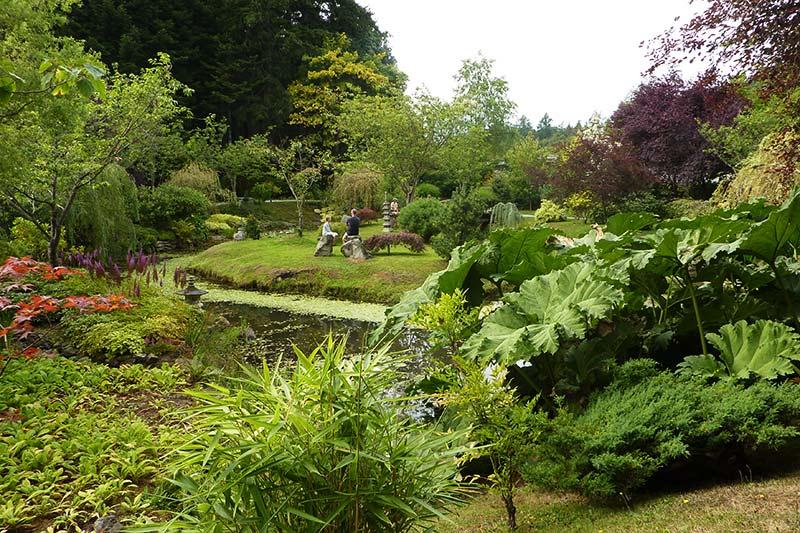 Japanese Gardens, Mayne Island, Southern Gulf Islands, British Columbia