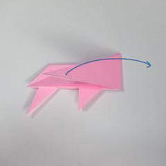 สอนการพับกระดาษเป็นลูกสุนัขชเนาเซอร์ (Origami Schnauzer Puppy) 052