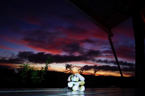 sunset clouds wolken bluehour palau micronesia elhase p021 elreisehase mesekelat peh1