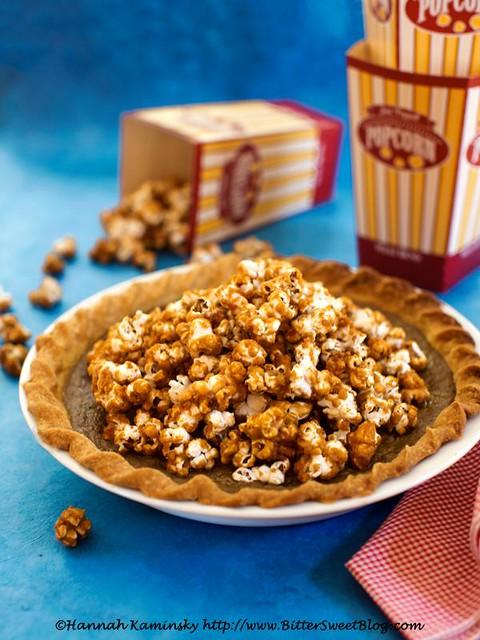Caramel Corn Pie