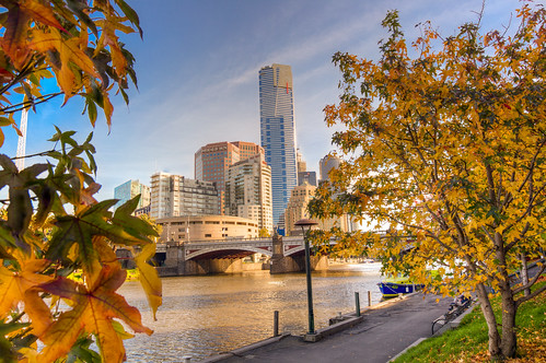 Melbourne Cityscape from Yarra | by @kemalcaesar