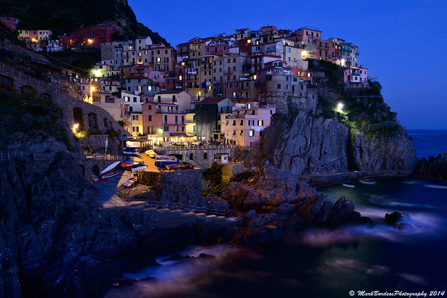 Manarola, Cinque Terre, La Spezia, Italy.
