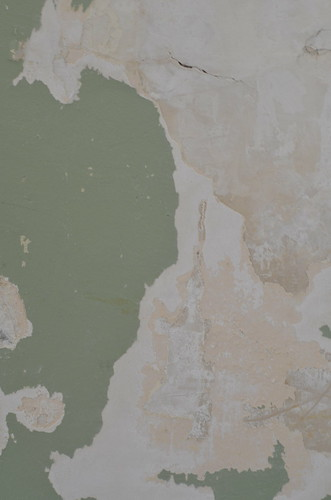 Texture - green paint and plaster | by Andrew Beeston