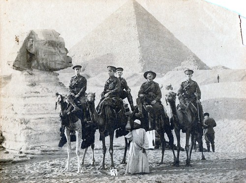 Australian forces in Egypt 1916