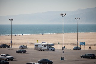 Manfrotto Be Free Tripod ad shoot BTS - Santa Monica RV | by The Bui Brothers