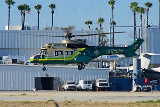 LASD - Eurocopter  AS332L1 Super Puma @ KLGB | by cclark395