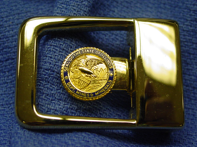 Illinois Department Of Mines & Minerals, Dress Buckle