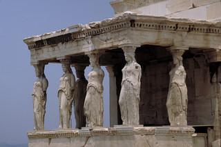 "Erechtheum (Erechtheion):  caryatid portico (""Portico of the Maidens"")"