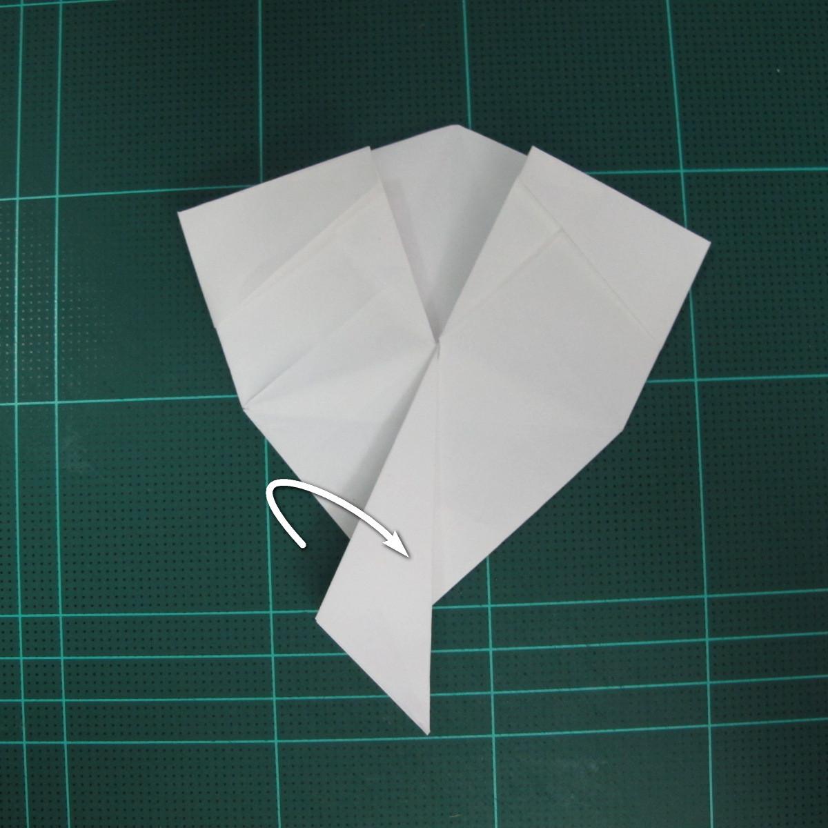 วิธีพับกระดาษเป็นรูปปลาแซลม่อน (Origami Salmon) 030