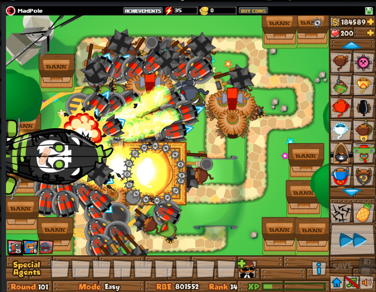 bloons tower defense 5 | Round 101, Easy  A staci  | Flickr