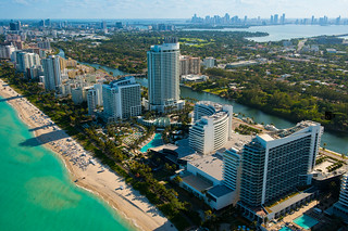Aerial photo of Miami Beach Florida | by edinchavez