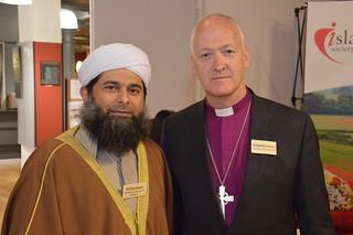 Ibrahim Mogra - Muslim Council of Britain & Bishop of Bradford, Nick Baines   by BritIslam