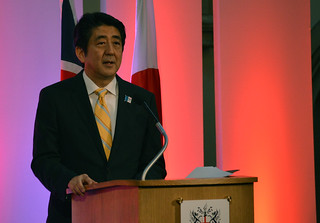 Shinzo Abe, Prime Minister of Japan | by Chatham House, London