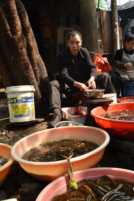 Chongqing (重庆), Shi Ba Ti (十八梯), April 2013