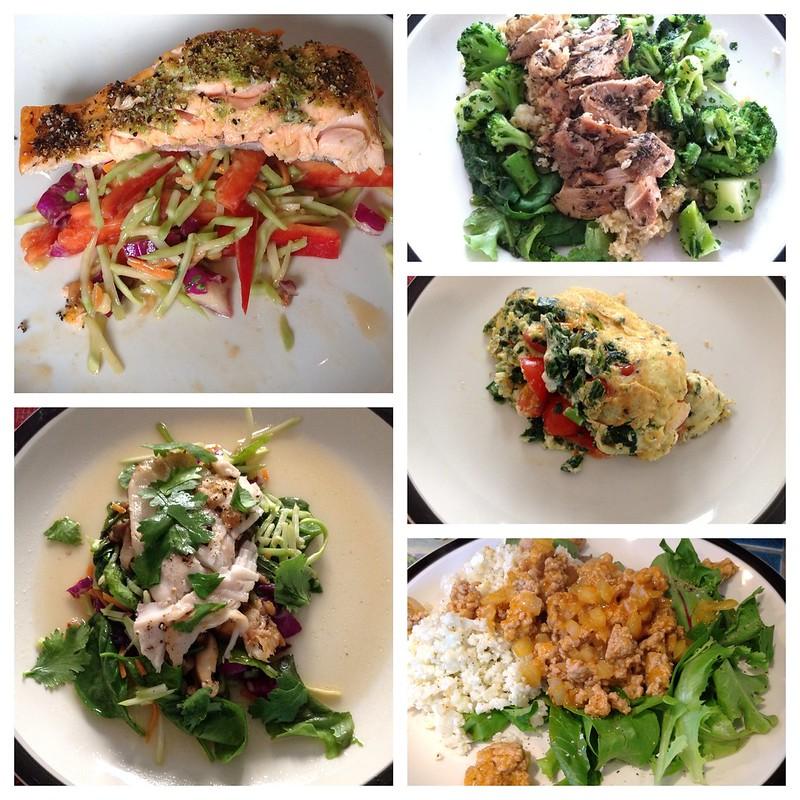 O2 BodyFit Meal Plan - Week 1